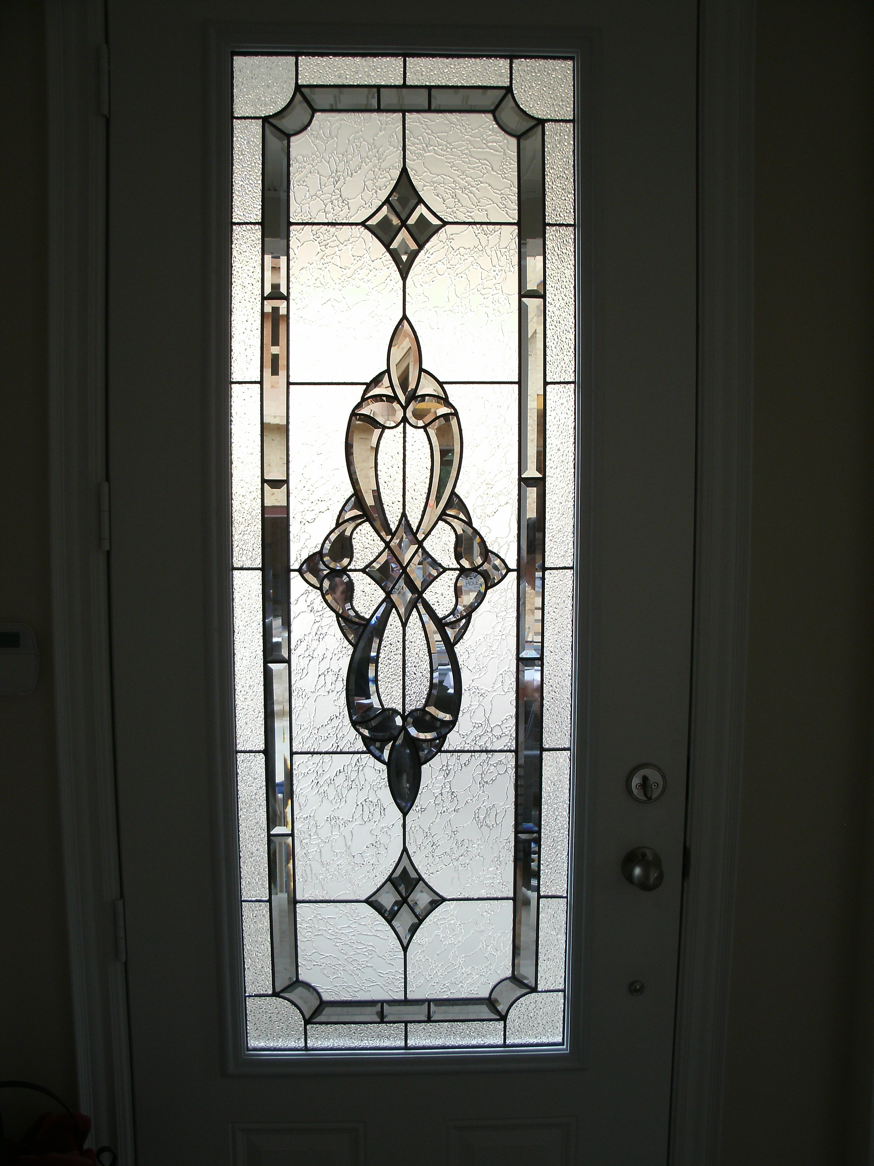 Stained glass door inserts and wrought iron door inserts - Wrought iron kitchen cabinet door inserts ...